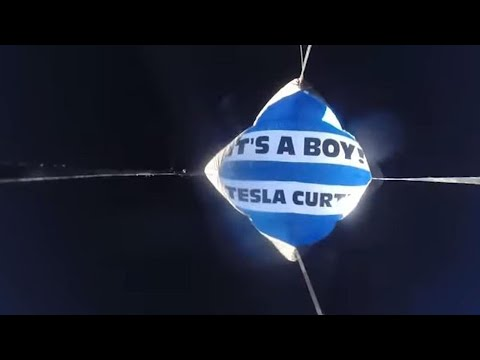 Couple Does Baby Gender Reveal in Outer Space