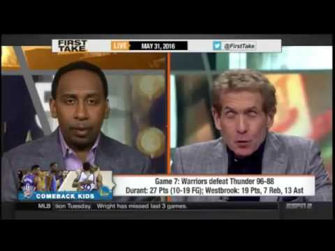 ESPN First Take   Game 7  NBA Western Conference Finals