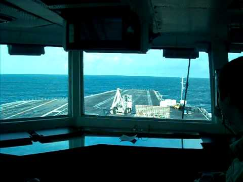 Underway from the Bridge