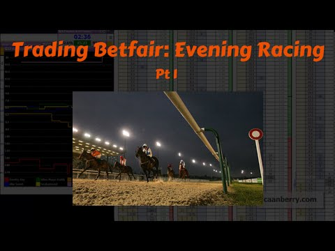 Trading Betfair: Evening Horse Racing - Caan Berry with Geeks Toy (1 of 2)