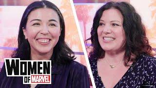 Meet Two of the Women who Create Marvel Rising Dolls for Hasbro | Women of Marvel