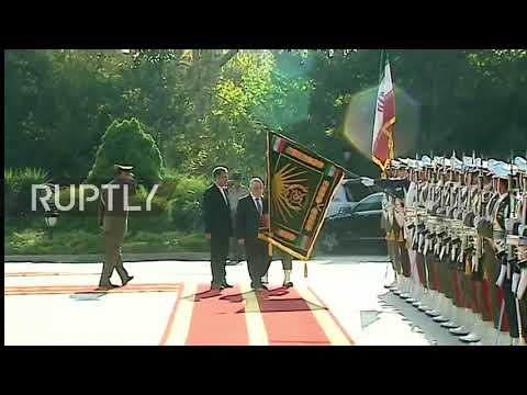 Iran: Iraqi PM al-Abadi welcomed in Tehran ahead of security talks