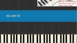 Nơi Anh về_ Binz _ Piano tutorial( Free sheet)