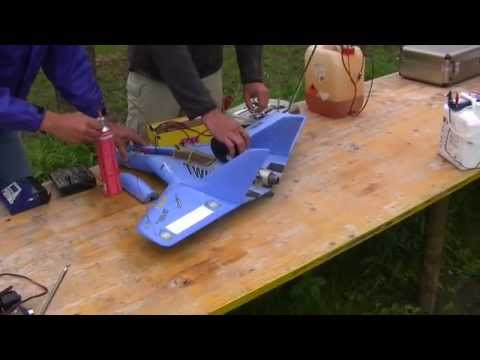 Multiplex RC Twinjet with Jet Engine Extremely fast