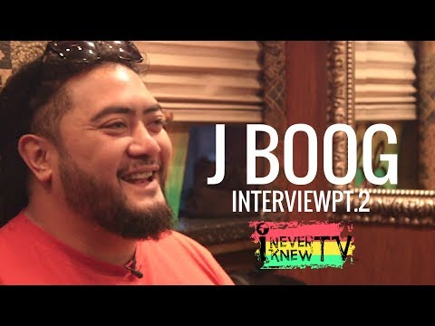"J Boog Interview  ""Polynesian Culture and Sacrifices to Achieve Goals"""