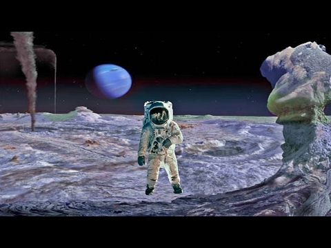 What Would Standing on Neptune's Moon Triton Feel Like?