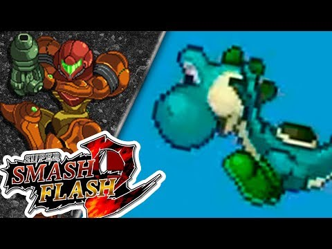 SAMUS AL RESCATE!! | Super Smash Flash 2 | Ep. 3 con -- ALEX --