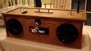 Car Audio Homemade Boombox
