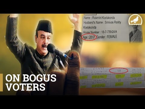 Democracy at Risk: Lakhs of Bogus Voters in Old City