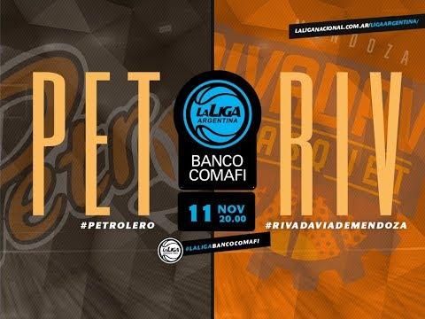 #LaLigaArgentinaBancoComafi | 11.11.2018 Petrolero vs. Rivadavia