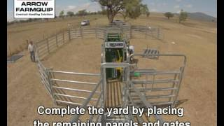 Setting Up Cattle Yards