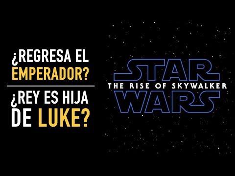 Análisis teaser: Star Wars The Rise of Skywalker