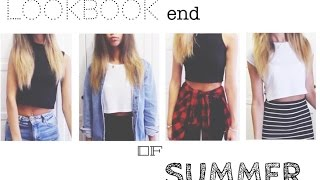 LOOKBOOK end of SUMMER ☀️ || it