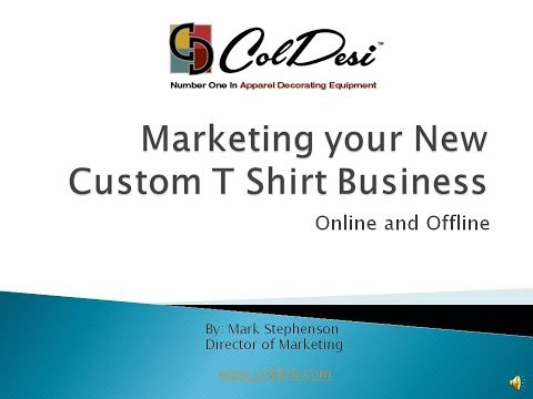 Marketing Your T Shirt Printing Business