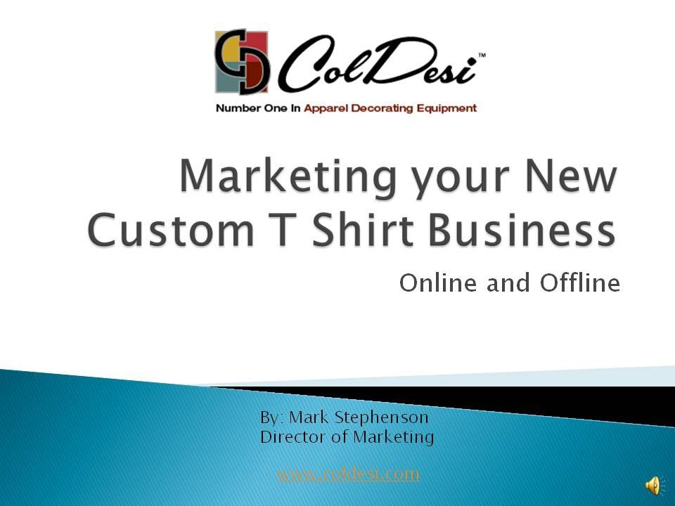 Tee shirt business plan