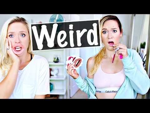 Thumbnail: Testing Weird Beauty Products With Alisha Marie!
