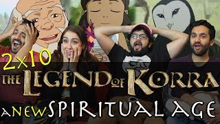 the legend of korra 2x10 a new spiritual age group reaction