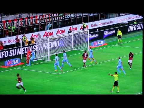Milan-Napoli 1-2 SKY HD - Ampia Sintesi - Highlights - All Goals - © Serie A 2013-2014