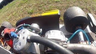 Bruit de casse moteur kart TMK9B (karting 125 boite de vitesse 6 rapports) broken engine sound
