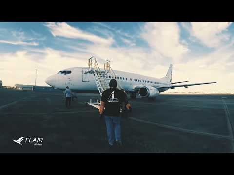 Flair Airlines New Livery - Unravel Travel TV
