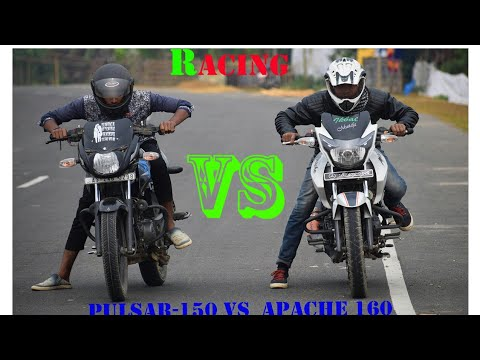 pulsar 150 bs4 vs apache 160 racing comparison