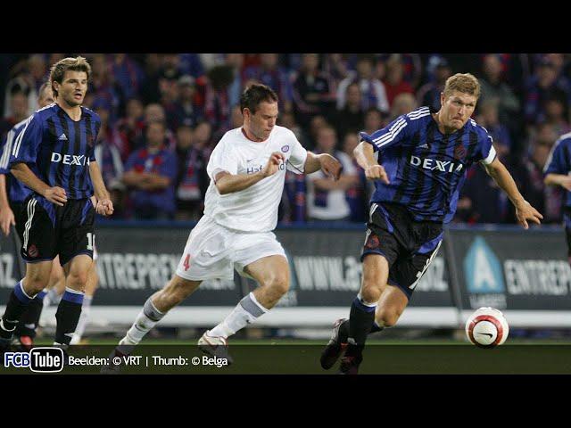 2005-2006 - Champions League - 01. 3de Voorronde - Valerenga IF - Club Brugge 1-0