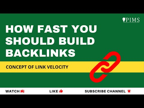 How Fast You Should Build Backlinks? Concept Of Link Velocity In Hindi