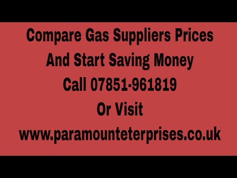 Compare Business Gas Suppliers Prices And Save Money On Your Utilities Today