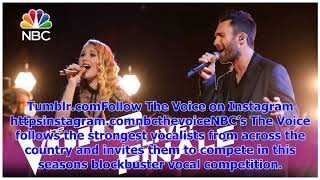 "Breaking NewsThe voice 2017 addison agen and adam levine - finale: ""falling slowly"""
