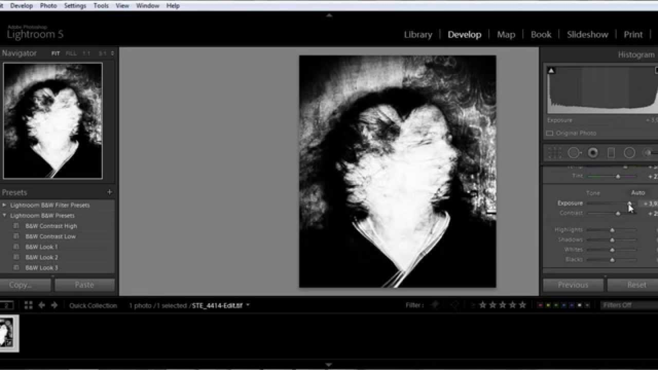 how to add watermark in lightroom