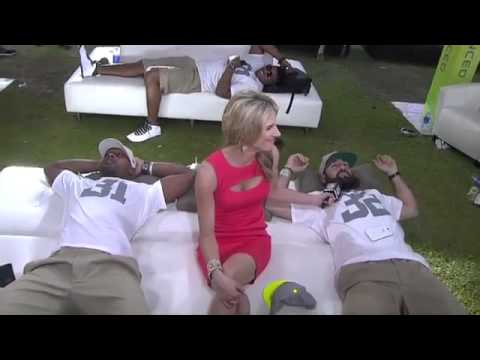 2014 Pro Bowl Draft  Buffalo Bills safety Jairus Byrd and San Diego Chargers safety Eric Weddle