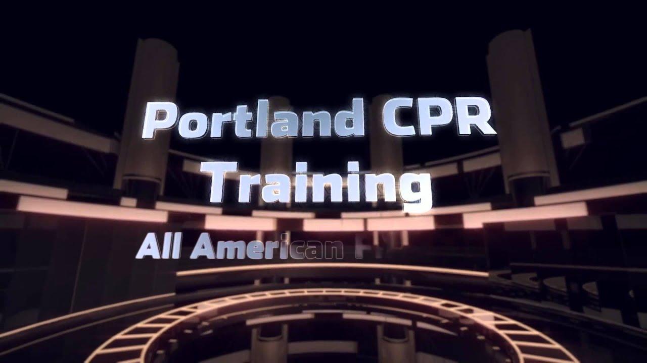 Portland Cpr Training Youtube
