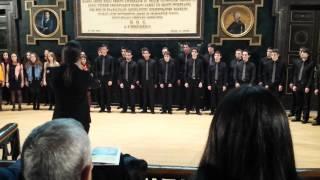 Coro de Jovenes de Madrid - Hallelujah (Aleluya) - Leonard Cohen 1/2