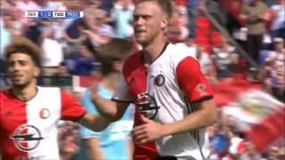 Goals Feyenoord - FC Twente 16/17