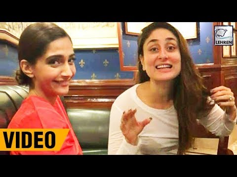Kareena Kapoor REVEALS Sonam Kapoor's Diet Secret! | LehrenTV