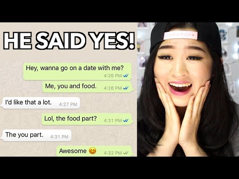 Girls Asking Their Crush On A Date Challenge!