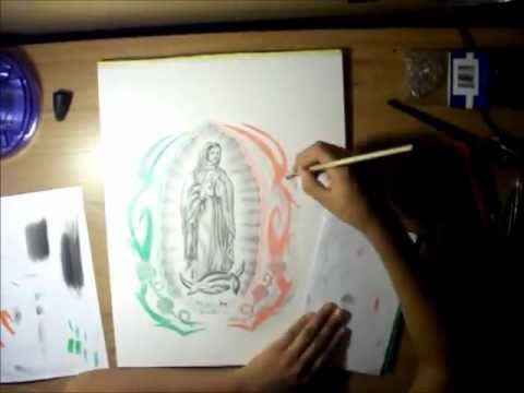 Drawing la virgen de guadalupe youtube drawing la virgen de guadalupe sciox Gallery