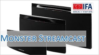 IFA 2015: Monster Streamcast Multiroom Speaker Hands on