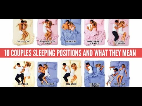 10 Couple Sleeping Positions And What They Mean