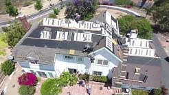 How to Shingle a steep roof by Christian Roofing, Inc.