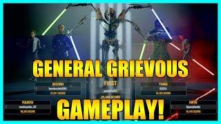 Epic General Grievous Gameplay - Star Wars Battlefront 2