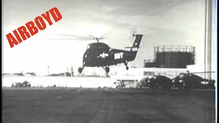 Sikorsky Helicopter Testing (1954)