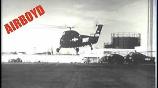 Sikorsky Helicopter Testing (1954)