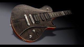 Hard Rock Backing Track in Am