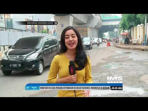 Live Report -  Pembangunan Proyek LRT Di Rawamangun