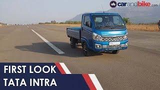 Tata Intra Compact Truck First Look | NDTV carandbike