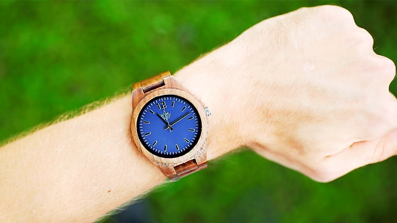 WOODEN WATCHES - PRODUCT VIDEO - COREY PIERSON