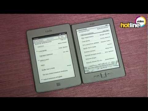 Обзор Amazon Kindle Touch