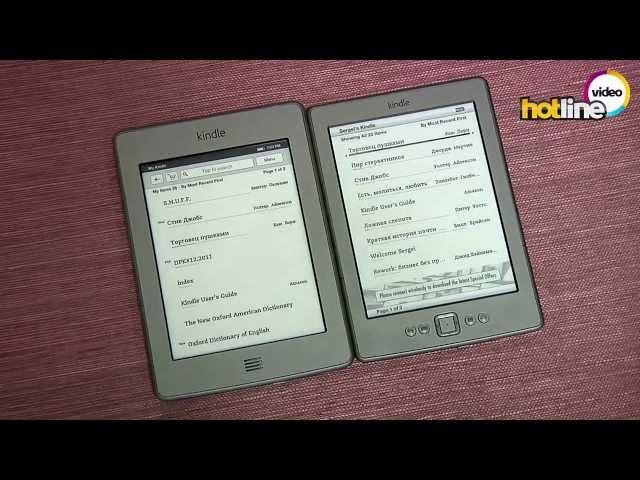 ????? Amazon Kindle Touch