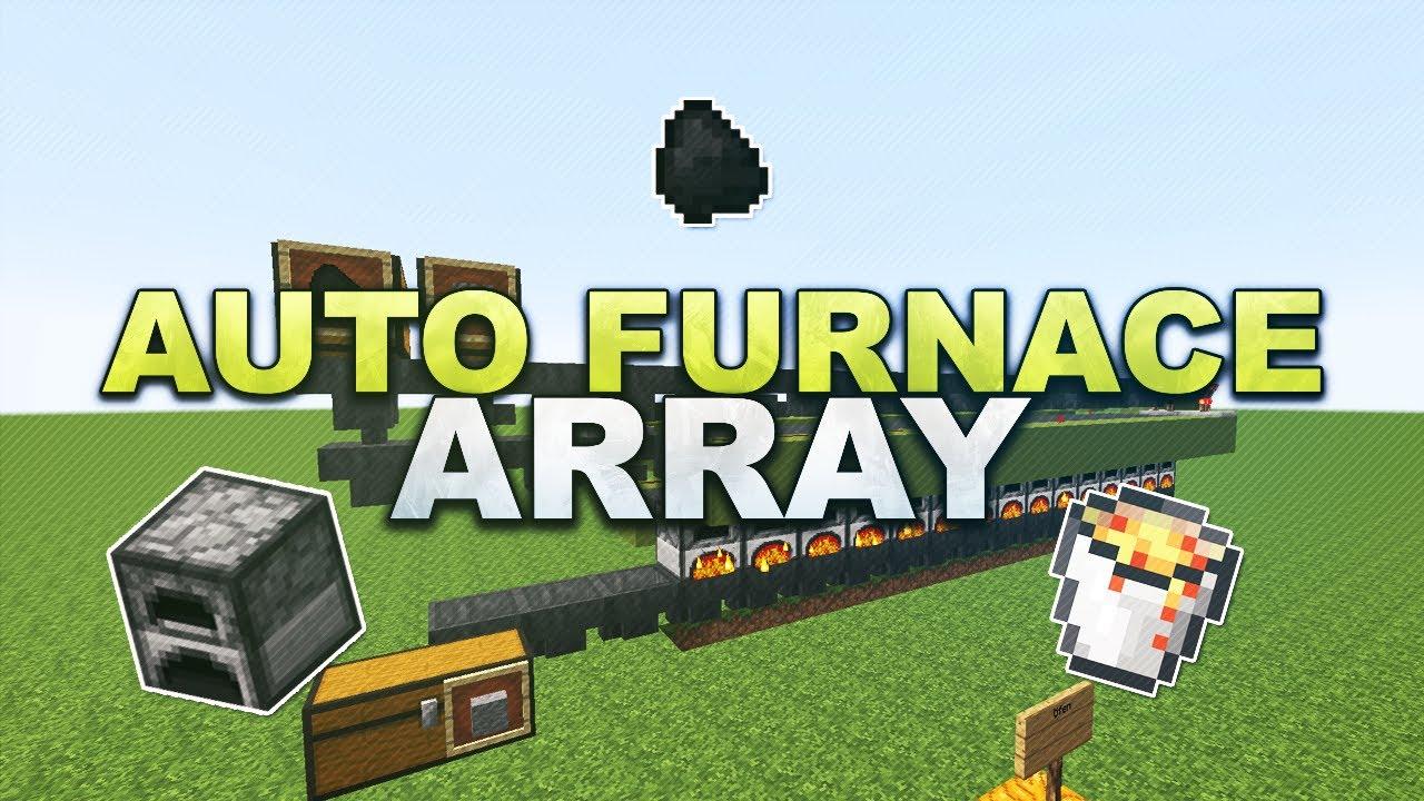 Minecraft - Auto Furnace Array // Automatischer Ofen ...